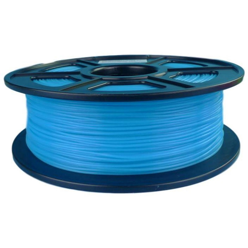 3D Filament ABS-Glow In The Dark Blue