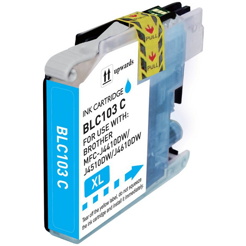 Brother LC103C Cyan Ink Cartridge