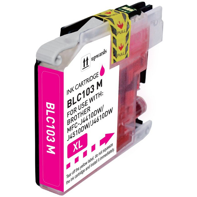 Brother LC103M Magenta Ink Cartridge