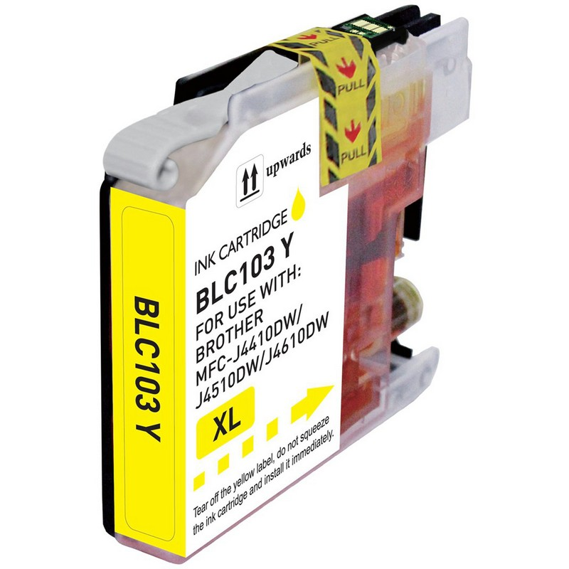 Brother LC103Y Yellow Ink Cartridge