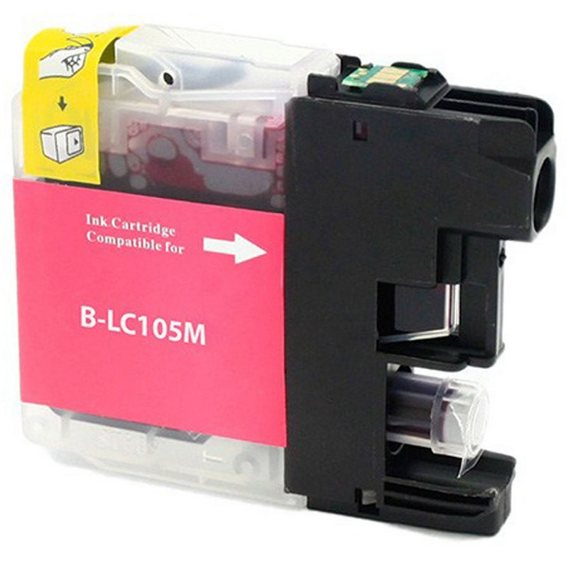 Brother LC105M Magenta Ink Cartridge