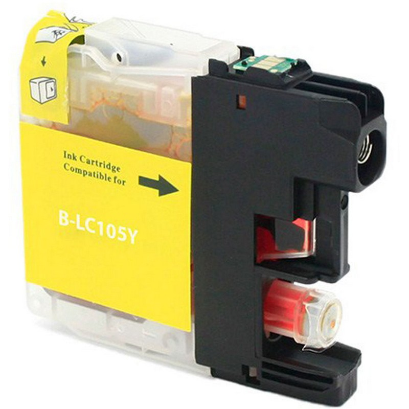 Brother LC105Y Yellow Ink Cartridge