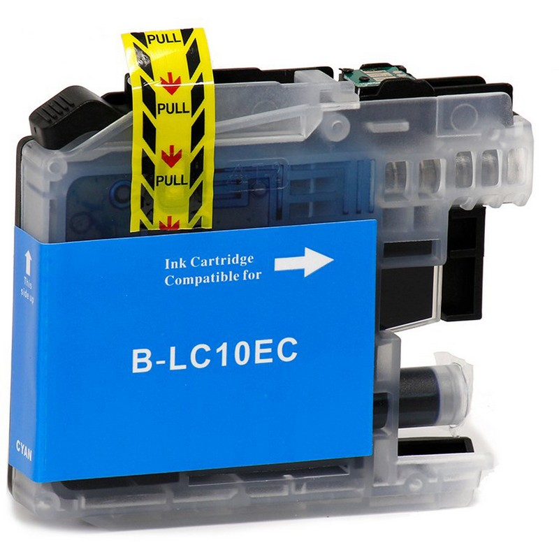Brother LC10EC Cyan Ink Cartridge