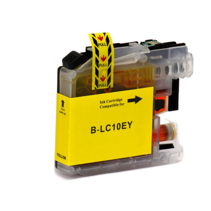 Brother LC10EY Yellow Ink Cartridge