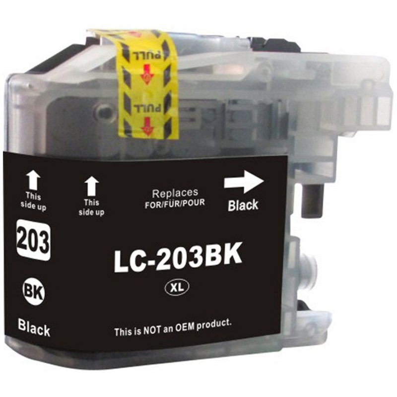 Brother LC203BK Black Ink Cartridge