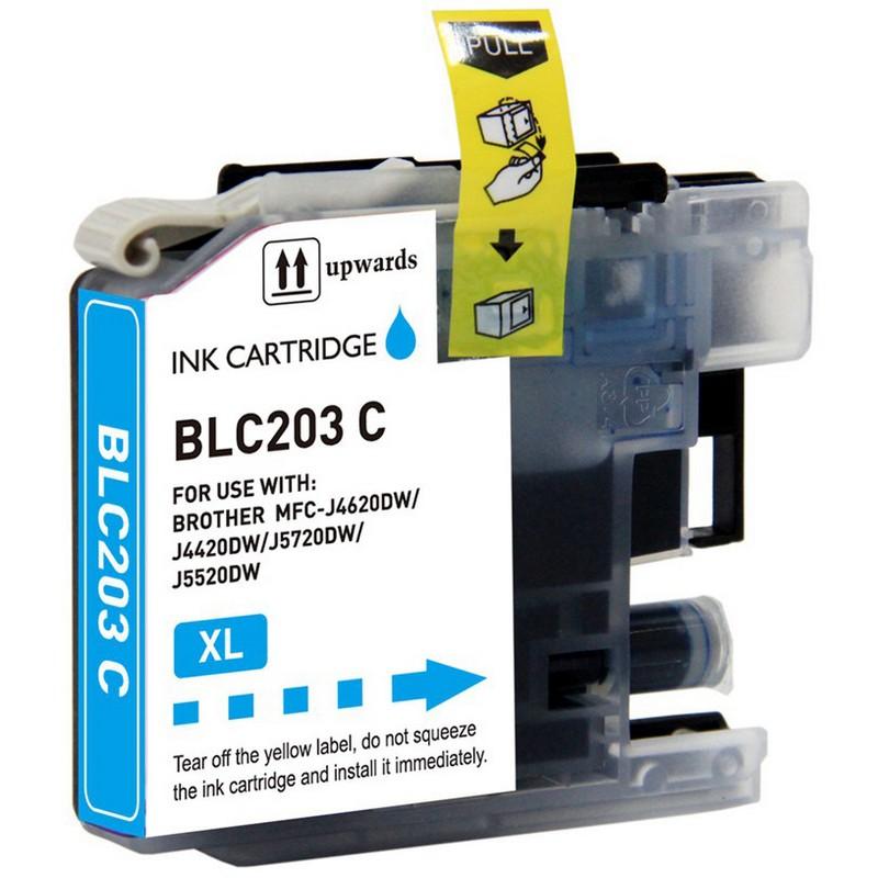 Brother LC203C Cyan Ink Cartridge