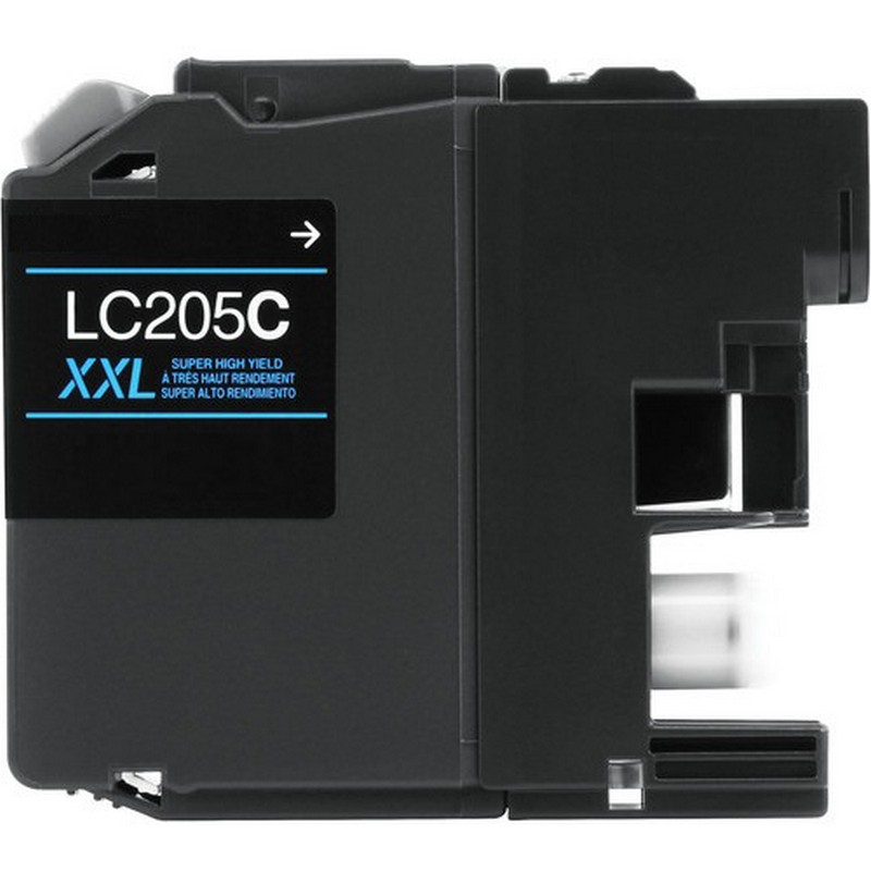 Brother LC205XXLC Cyan Ink Cartridge