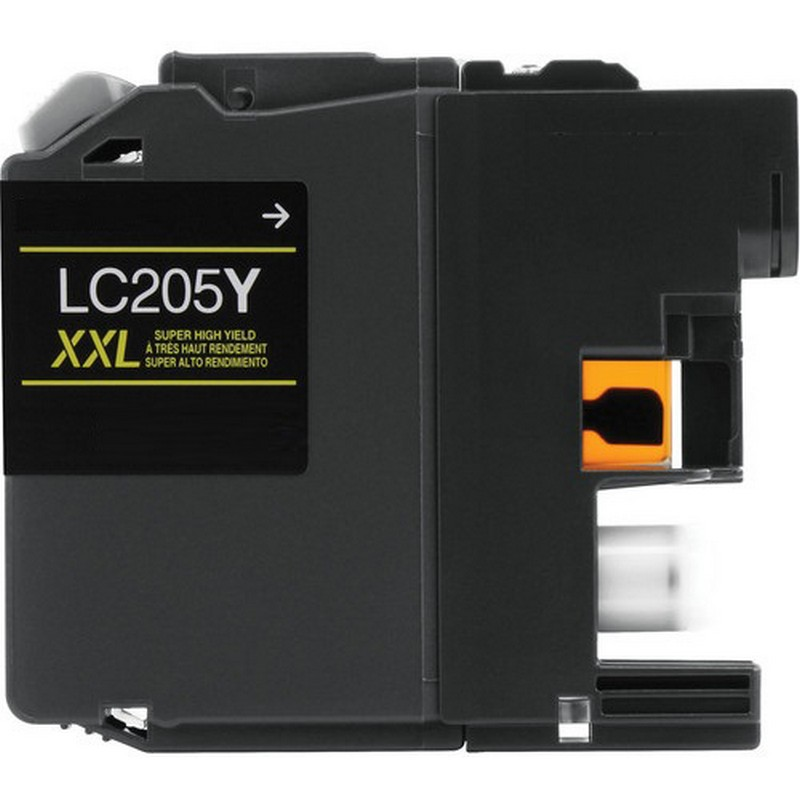 Brother LC205XXLY Yellow Ink Cartridge