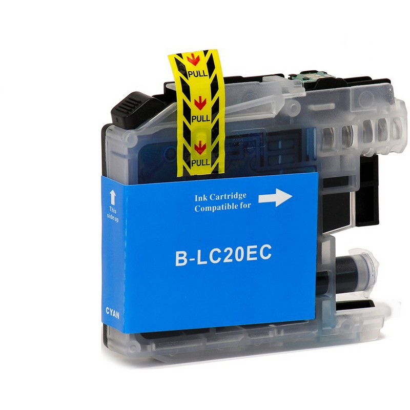 Brother LC20EC Cyan Ink Cartridge