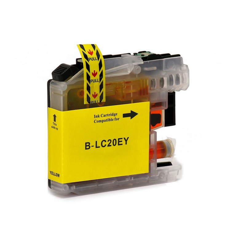 Brother LC20EY Yellow Ink Cartridge