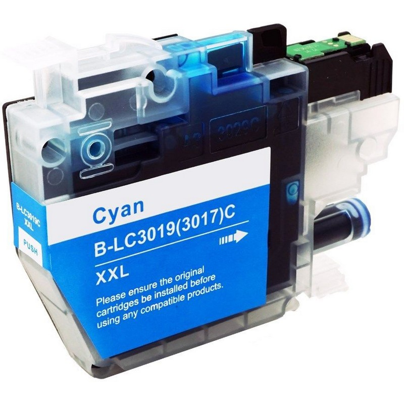 Brother LC3019XXLC Cyan Ink Cartridge