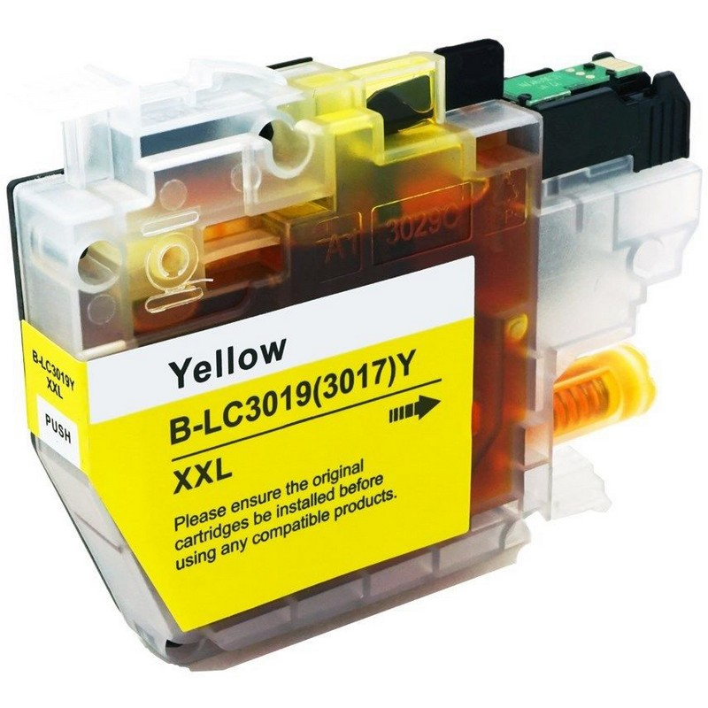 Brother LC3019XXLY Yellow Ink Cartridge
