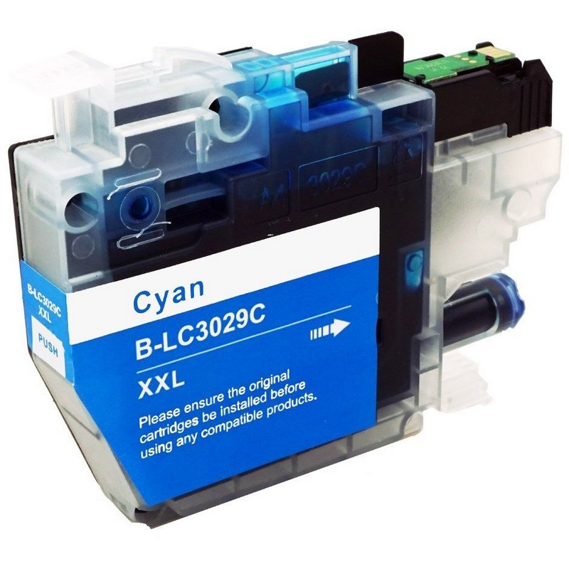 Brother LC3029XXLC Cyan Ink Cartridge