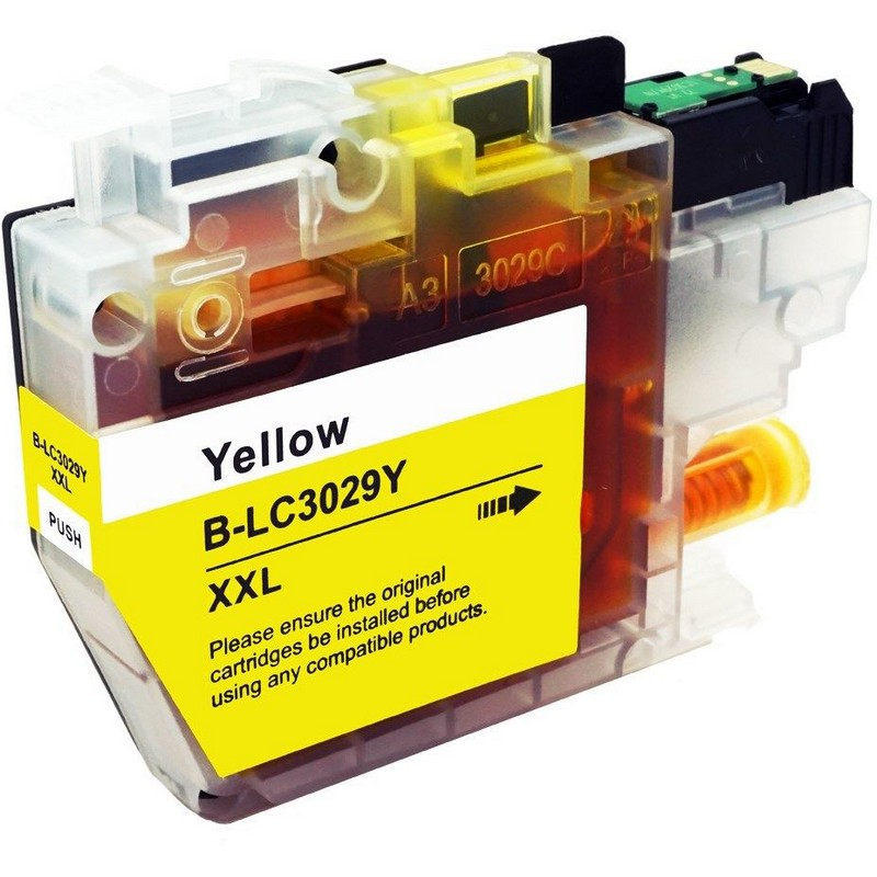 Brother LC3029XXLY Yellow Ink Cartridge