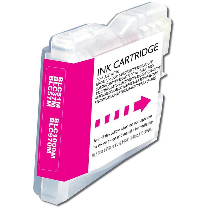 Brother LC51M Magenta Ink Cartridge