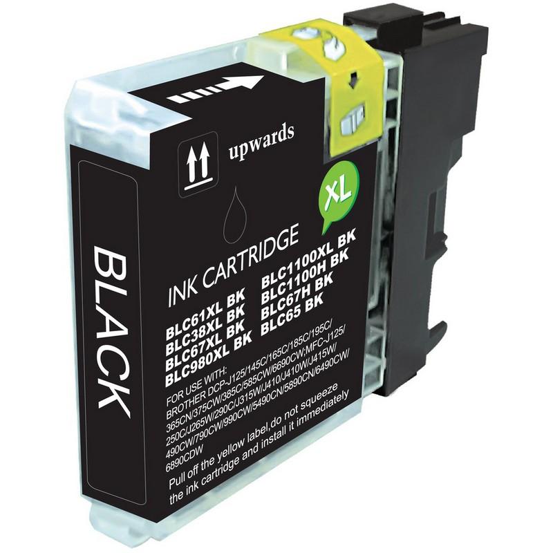 Brother LC61BK Black Ink Cartridge