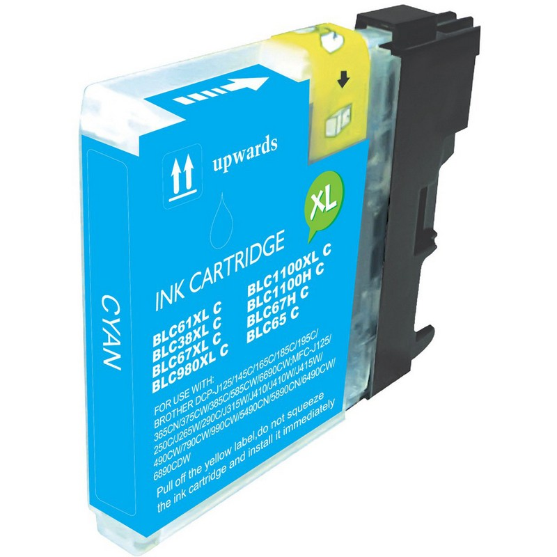 Brother LC61C Cyan Ink Cartridge