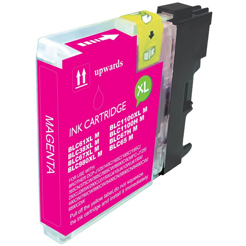 Brother LC61M Magenta Ink Cartridge