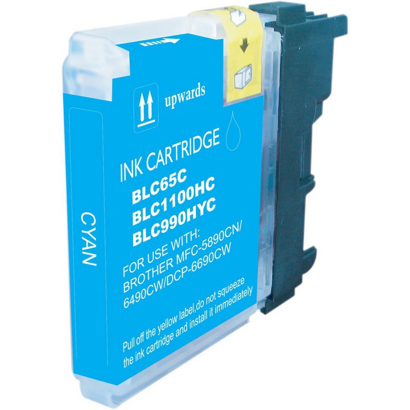 Brother LC65C Cyan Ink Cartridge