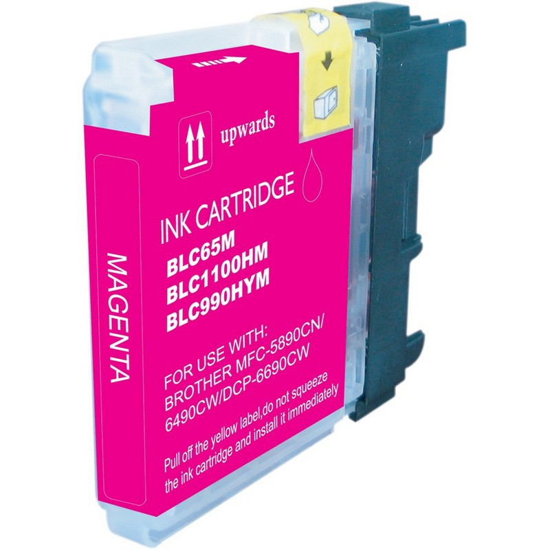 Brother LC65M Magenta Ink Cartridge