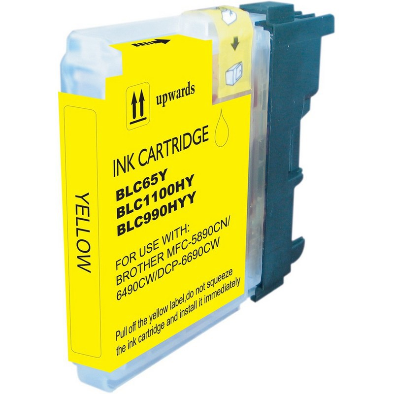 Brother LC65Y Yellow Ink Cartridge