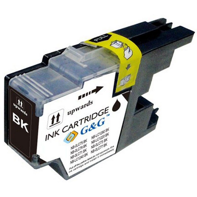 Brother LC75BK Black Ink Cartridge