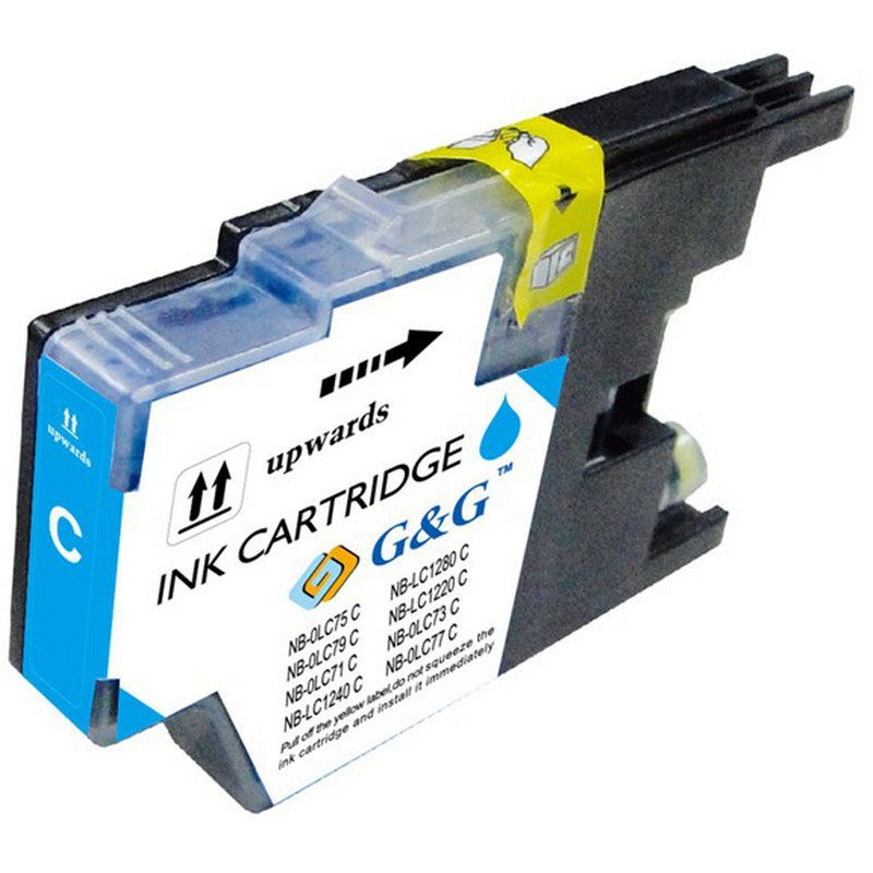 Brother LC75C Cyan Ink Cartridge