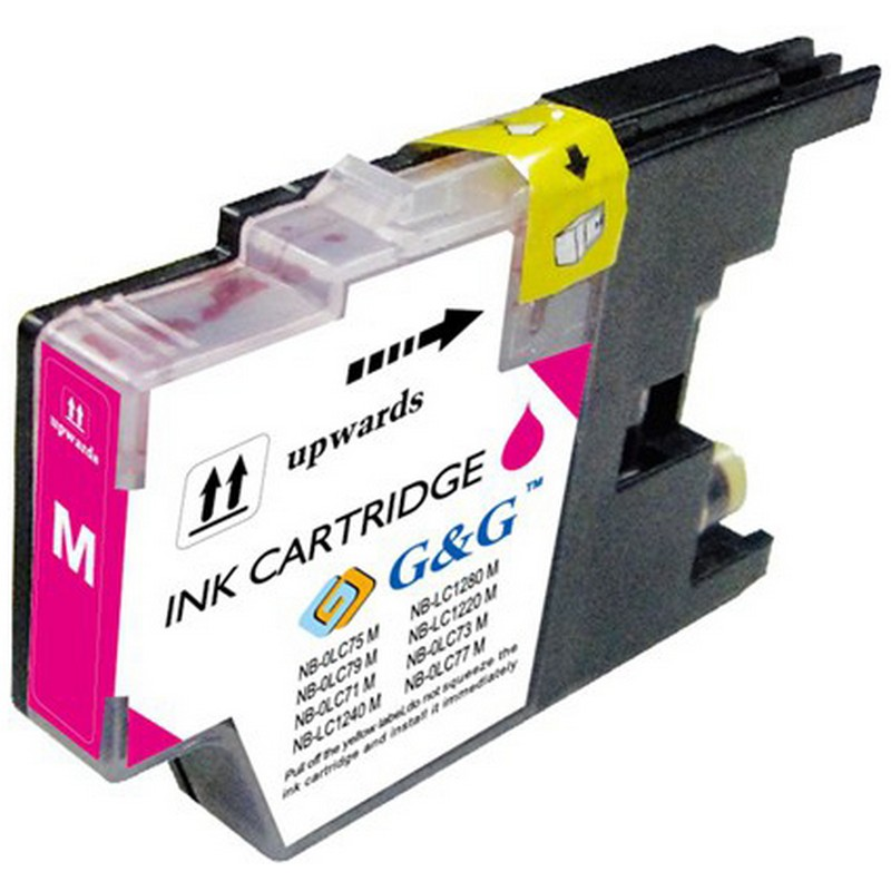 Brother LC75M Magenta Ink Cartridge