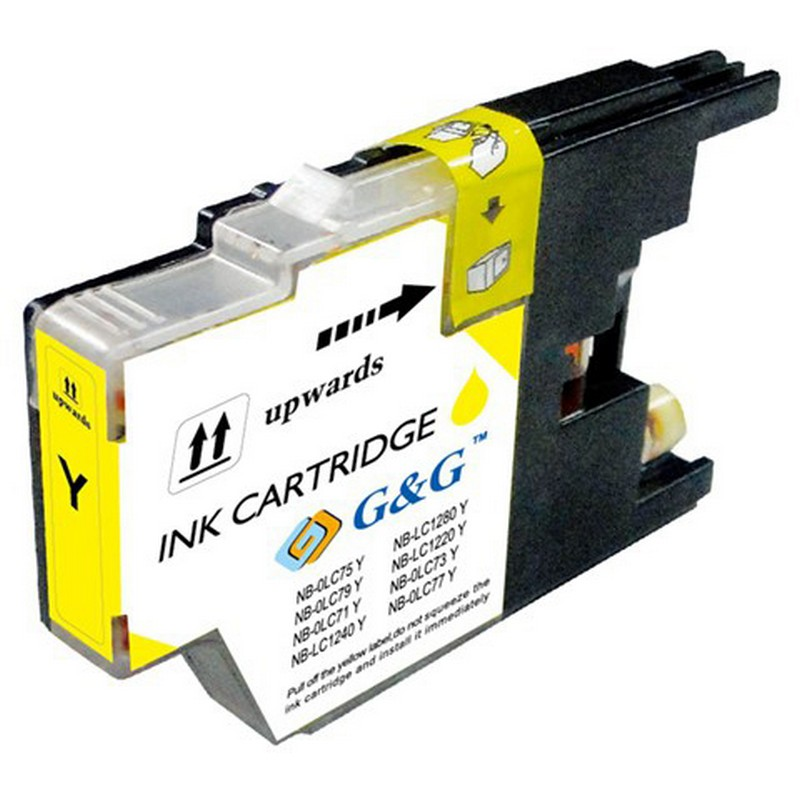 Brother LC75Y Yellow Ink Cartridge
