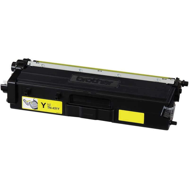 Cheap Brother TN431Y Yellow Toner Cartridge