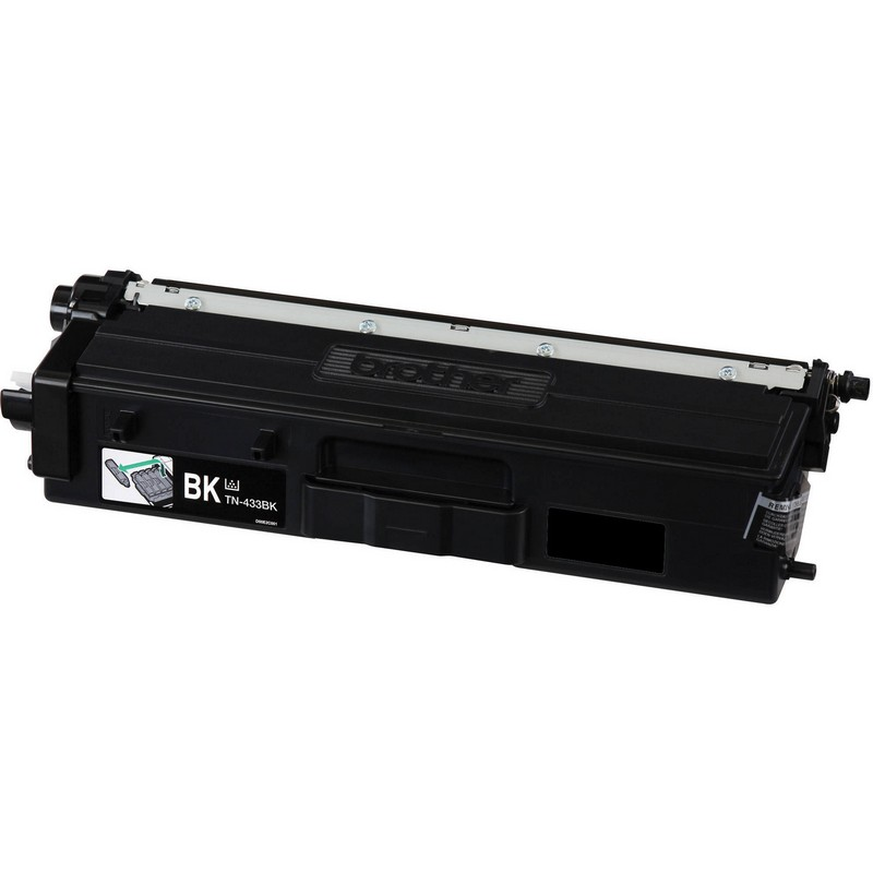 Brother TN433BK Black Toner Cartridge-Brother TN431BK