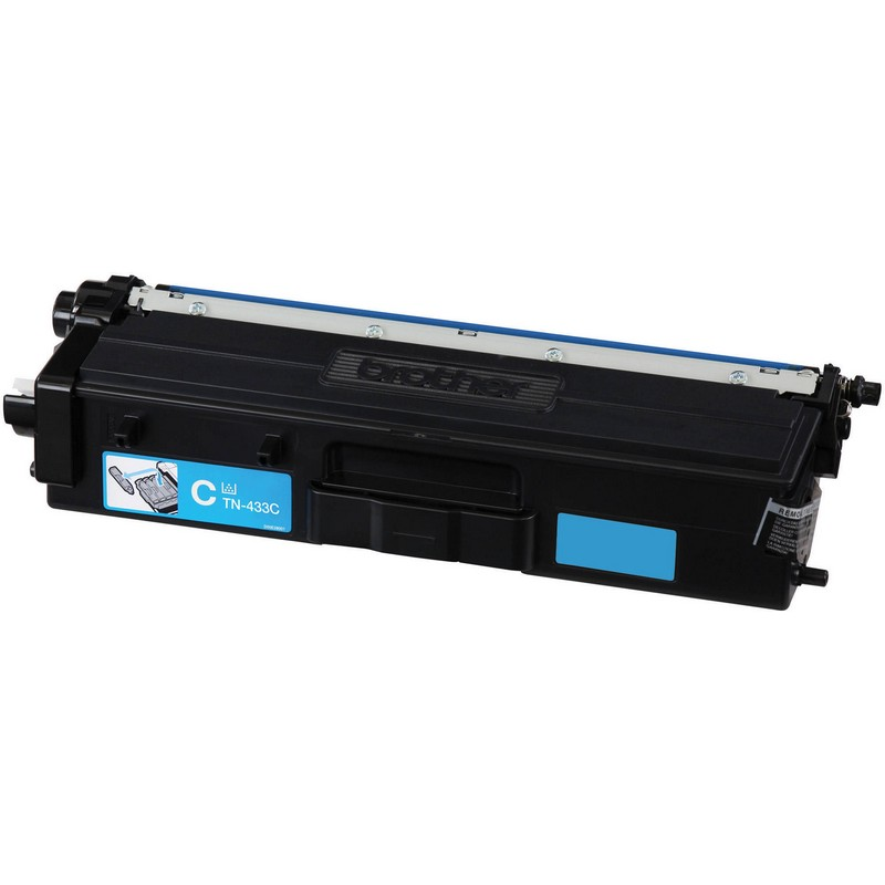 Brother TN433C Cyan Toner Cartridge-Brother TN431C
