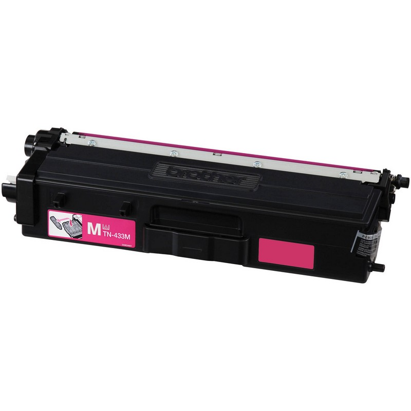 Brother TN433M Magenta Toner Cartridge-Brother TN431M