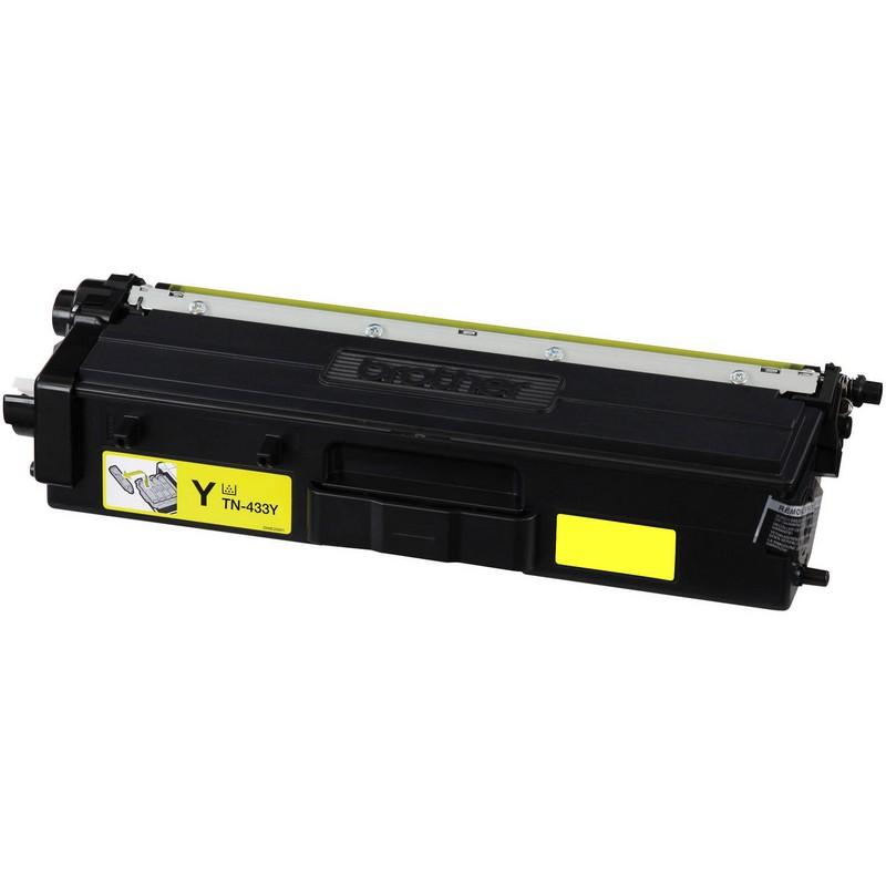 Brother TN433Y Yellow Toner Cartridge-Brother TN431Y