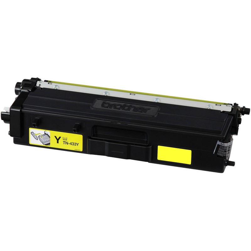 Brother TN433Y Yellow Toner Cartridge-Brother TN431Y