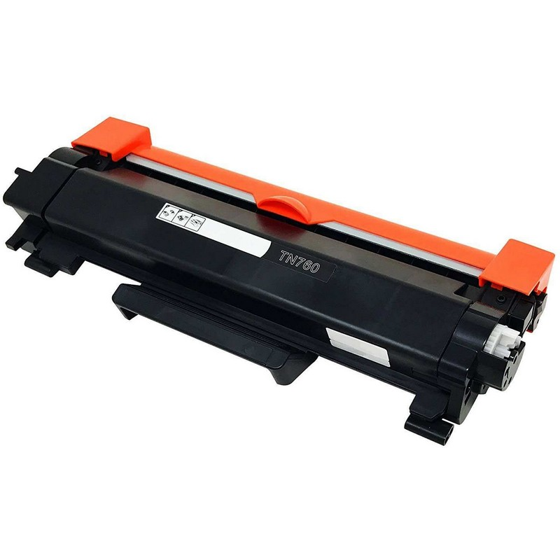 Brother TN760 Black Toner Cartridge-Brother TN730