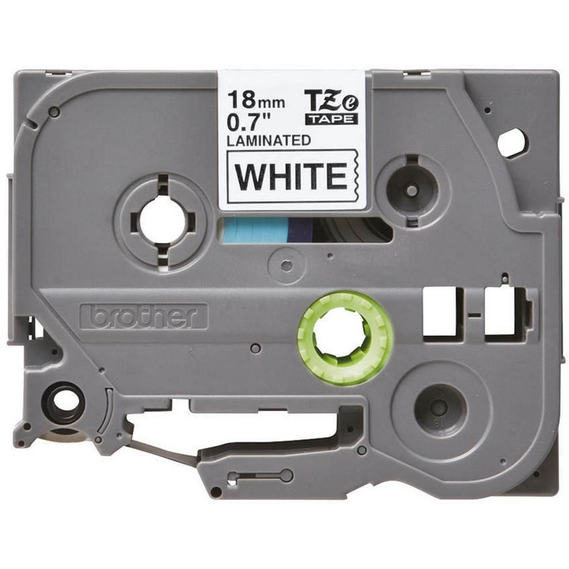 Brother TZe-241 Black on White P-Touch Label