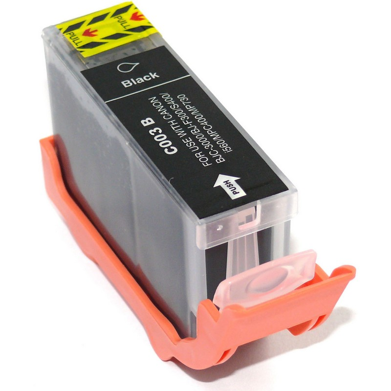 Canon BCI-3eBK Black Ink Cartridge
