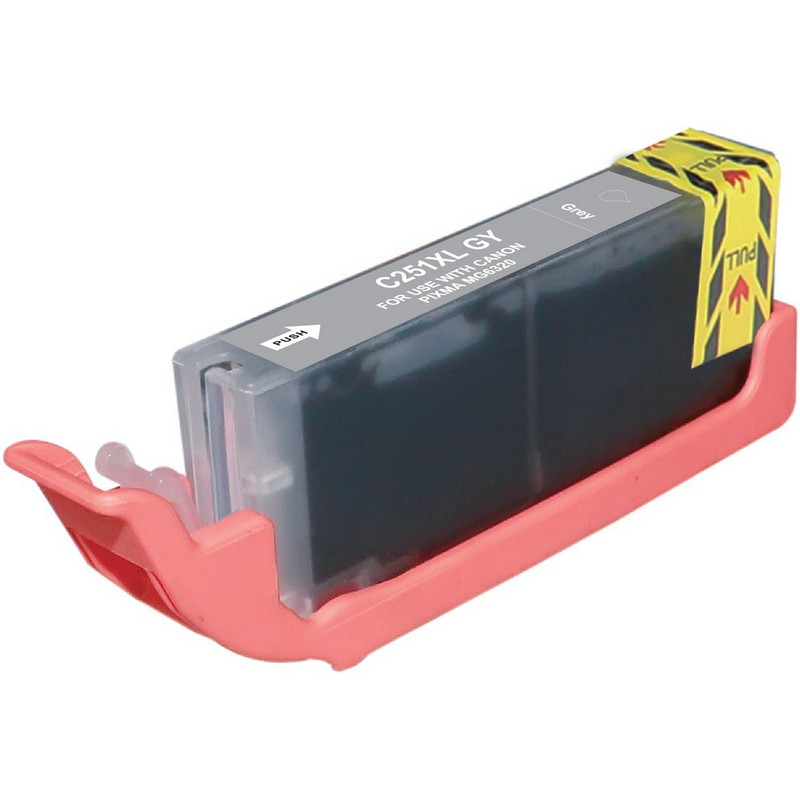 Canon CLI-251XLGY Grey Ink Cartridge