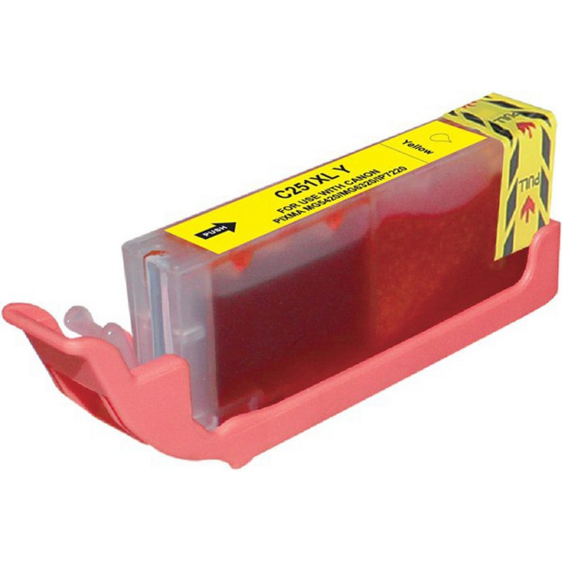 Canon CLI-251XLY Yellow Ink Cartridge