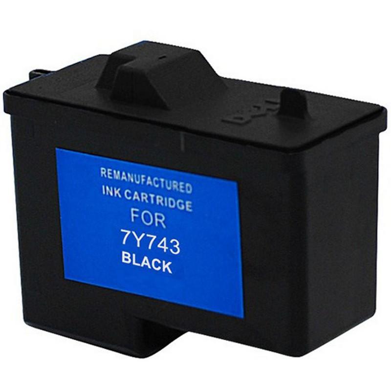 Dell 7Y743 Black Ink Cartridge-Dell 310-3540