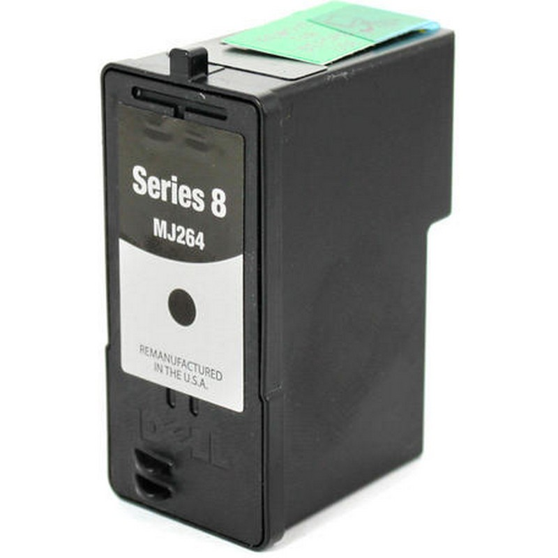 Dell MJ264 Black Ink Cartridge-Dell Series 8