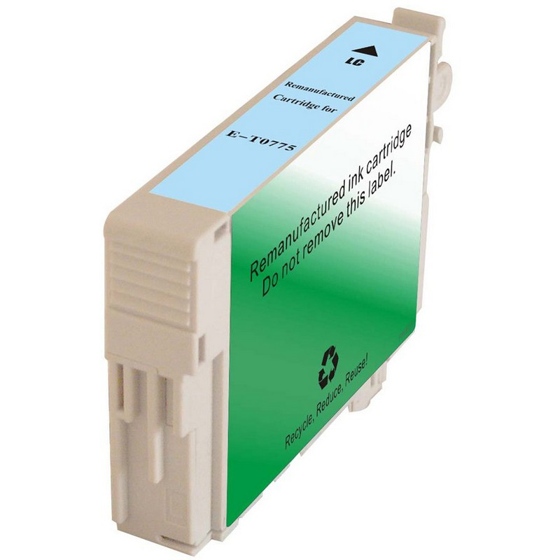 Epson T077520 Lt. Cyan Ink Cartridge