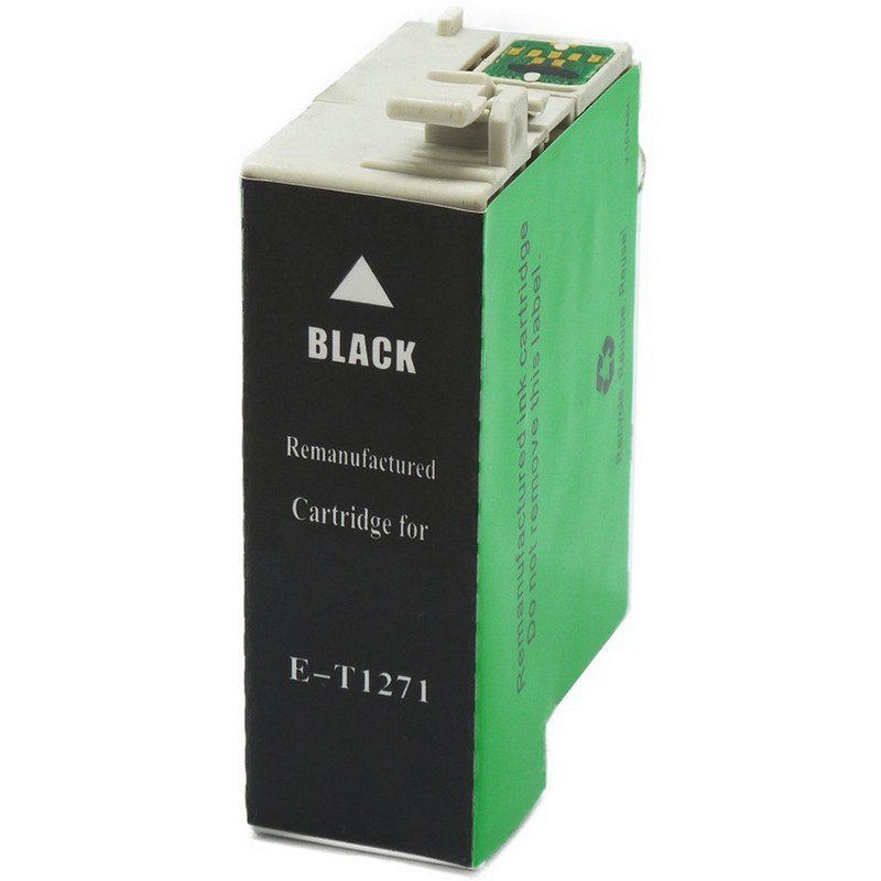 Epson T127120 Black Ink Cartridge-Epson T1271