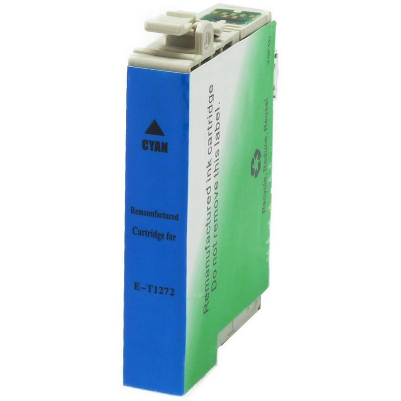 Epson T127220 Cyan Ink Cartridge-Epson T1272