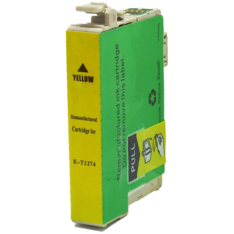 Epson T127420 Yellow Ink Cartridge-Epson T1274