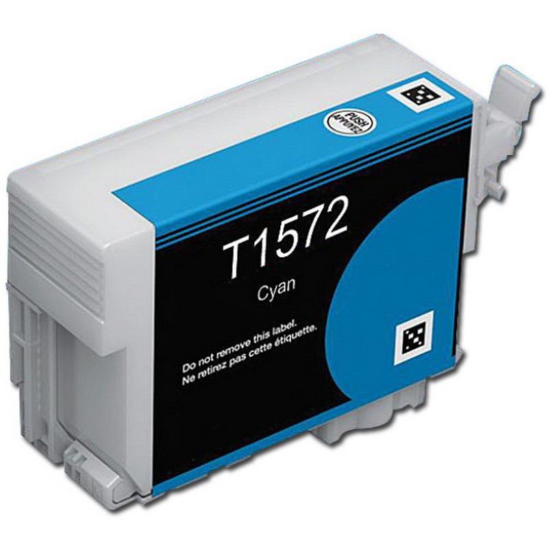 Epson T157220 Cyan Ink Cartridge-Epson T1572