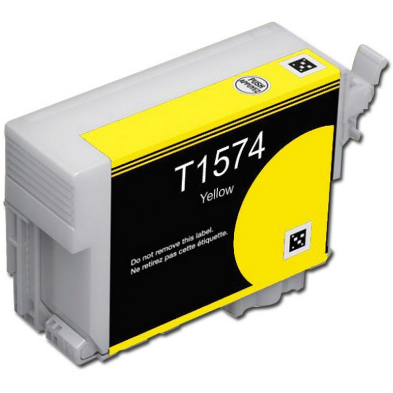 Epson T157420 Yellow Ink Cartridge-Epson T1574