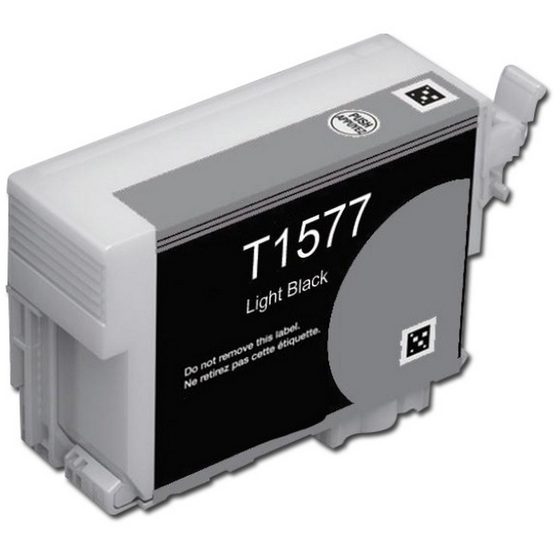 Epson T157720 Lt. Black Ink Cartridge-Epson T1577