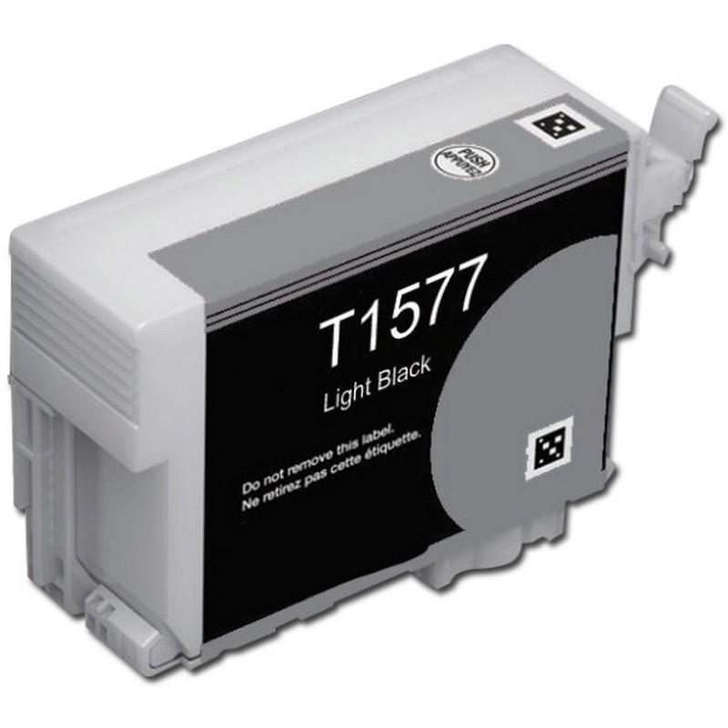 Epson T157720 Lt. Black Ink Cartridge-Epson T1577